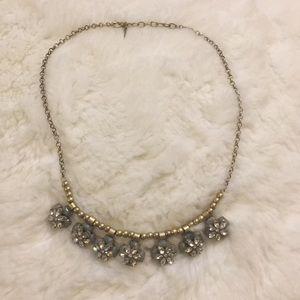 Ann Taylor LOFT Floral Necklace